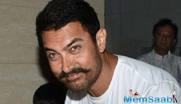 Has Aamir already started promoting wrestling themed flick 'Dangal'?