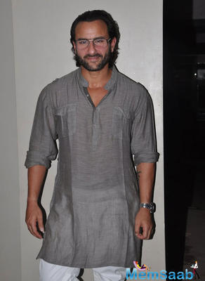 The most prospering Bollywood actor Saif Ali Khan reacted to Maharashtra Navnirman Sena's threat issued to Pakistani artists, urging them to leave the country.