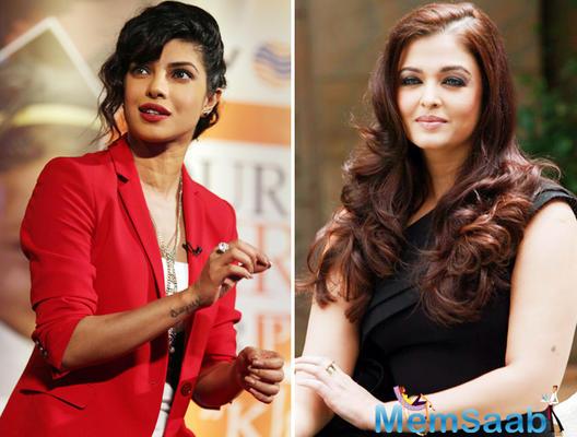 Aishwarya replaced by Priyanka Chopra for a beauty brand