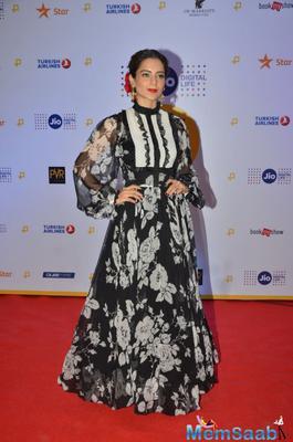 Fashion queen: Kangana Ranaut attends Jio MAMI 18th Mumbai film festival