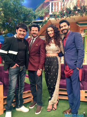 Anil Kapoor and Mirzya team spent an amazing time in The Kapil Sharma Show