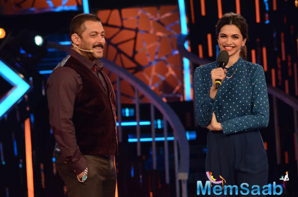 The grand premiere will air on October 16 on colors channel, and Dippy joins Salman on the show. Is it not excited.