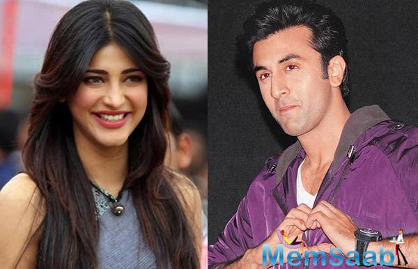 Ranbir Kapoor and Shruti Haasan to get into a serious relationship?