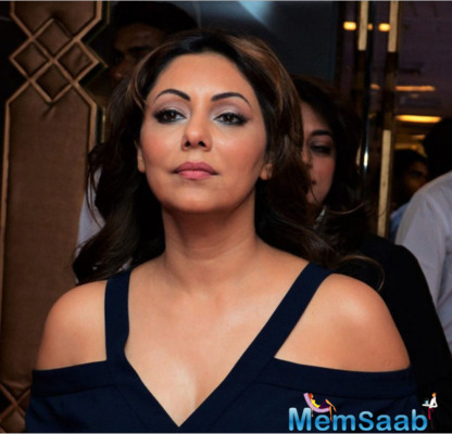 Gauri Khan spotted at an International Real Estate Expo Exhibition in Delhi