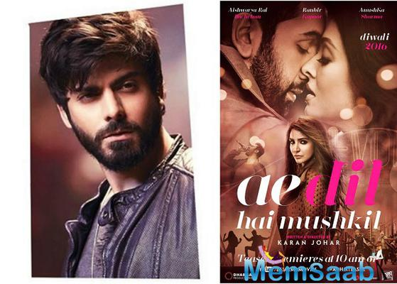 Karan's friend: Fawad Khan is not replaced in Ae Dil Hai Mushkil