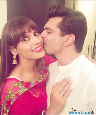 Bipasha Basu who tied the knot with Karan Singh Grover on April 30.Joining the line of happily married celeb wife is Bipasha Basu, who has observed her first Karva Chauth this year for hubby Karan Singh Grover.