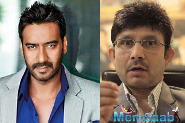 The self proclaimed movie critic Kamaal R Khan this time attack on Ajay Devgn and said 4 Me, Ajay Devgn is most dangerous man with black heart.
