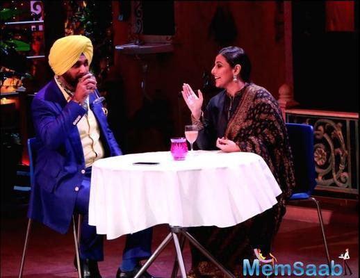 Vidya, Arjun have a gala time promoting 'Kahaani 2' on the sets of The Kapil Sharma Show
