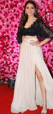 Anushka Sharma, who is currently basking praise success of 'Aye Dil Hai Mushkil' also attends the event.