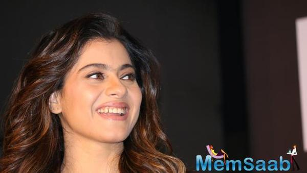 Kajol Devgan during the launch of Olay Total Effects new cream in Mumbai. (