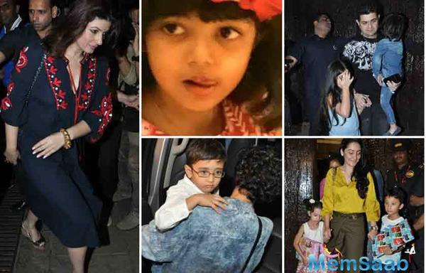 On Sunday, Aishwarya, Abhishek, Amitabh Bachchan and Jaya came together to celebrate the little munchkin's birthday. Aaradhya celebrated her birthday with much fanfare as a bunch of filmi kids