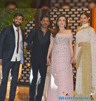 Slam Breakup rumours: Deepika-Ranveer attended Mukesh and Nita Ambani's party