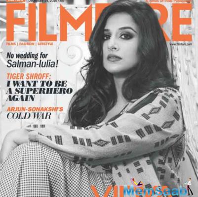 Vidya Balan looks fabulous on the latest cover of Filmfare December issue