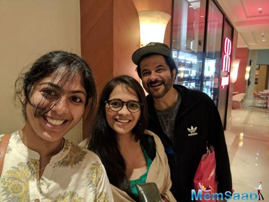 Check out: Anil Kapoor takes a selfie with fans at ATM