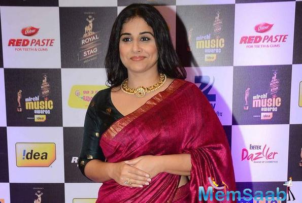 Vidya Balan confessed women's career doesn't stop after marriage, children