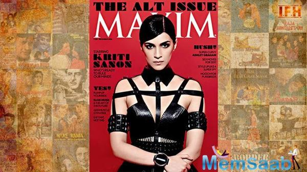 Kriti Sanon is making sure to make her fans go gaga over her latest photo shoots and magazine covers.Sharing this news with her fans, the 26-year-old actress took to Instagram to post a picture and wrote