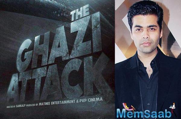 Karan Johar to produce India's first war-at-sea film