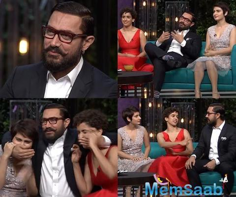 Aamir Khan revealed, how can women get closer to him on KWK Show!