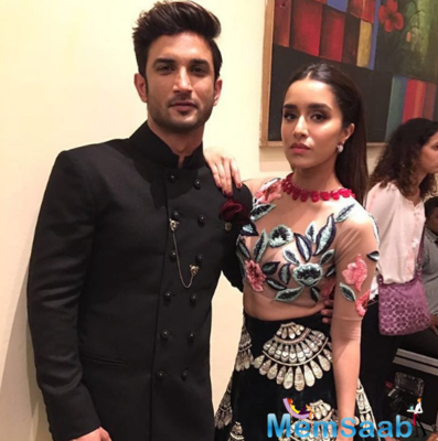 Sushant Singh Rajput and Shraddha pair up for the first time!