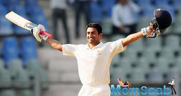After Sehwag, Karun Nair become the second Indian to score a triple hundred in test match