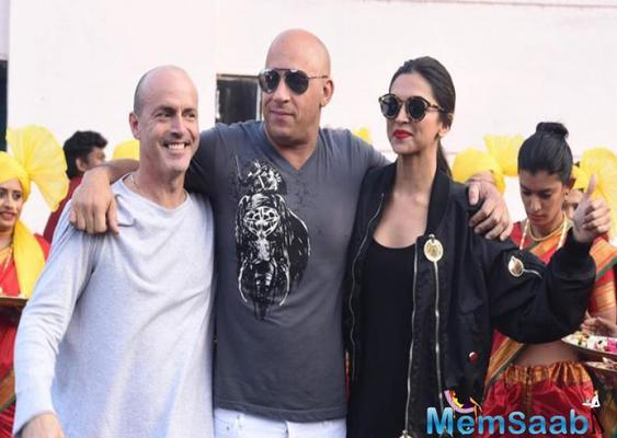 The star-cast of the Hollywood film xXx- The Return of Xander Cage has finally landed in India.