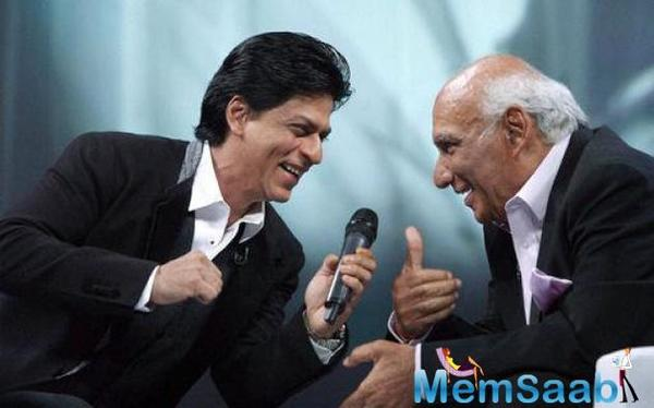 SRK is extremely grateful to be honoured with the fourth National Yash Chopra Memorial Award