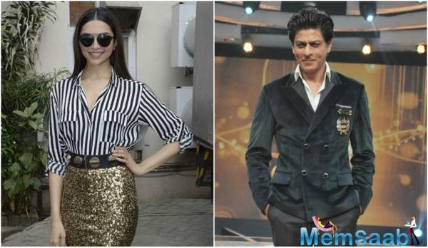 Recently at the launch of Dabboo Ratnani's celebrity calendar, Shah Rukh was asked about Deepika's big break.