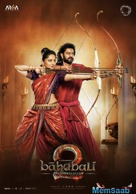 'Baahubali 2' new poster is out: Prabhas and Anushka are all ready for revenge