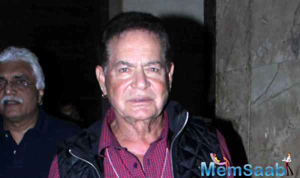 Salim Khan will never write for his eldest son Salman Khan