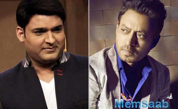 Kapil and Irrfan in trouble:  Police to file charge sheet against them for apartment violations