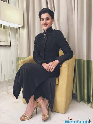 It is because of 'Running Shaadi.com' that I got 'Pink': Taapsee Pannu