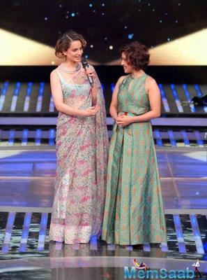 Kangana Ranaut promote Rangoon on the TV show Dil Hai Hindustani