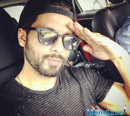 Shahid reveals I wait for my father's compliments on my work