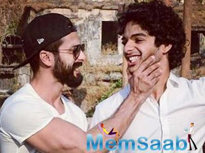 Finally, Shahid brother Ishaan Khatter starts shooting for Majidi's next project