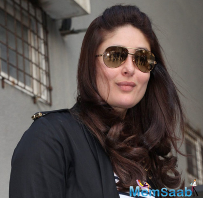 Taimur lovely mommy Kareena Kapoor Khan spotted outside Bandra salon