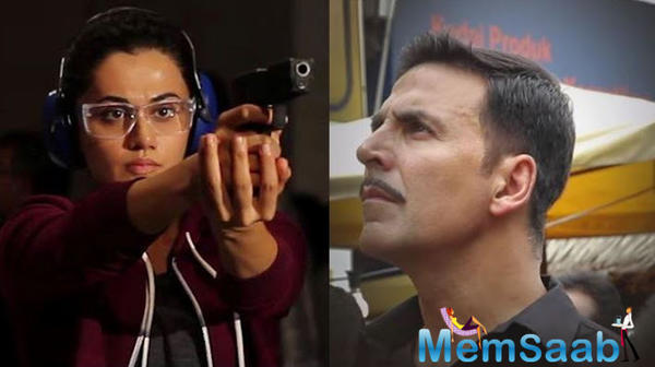 Taapsee reprise her role as secret agent Shabana, who assisted Akshay Kumar's character Ajay Singh Rajput in a significantly deadly mission.