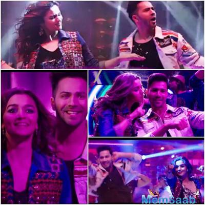 Recently, Varun and Alia had shared a video on their blog. Where, they could be seen learning the dance steps from Madhuri.
