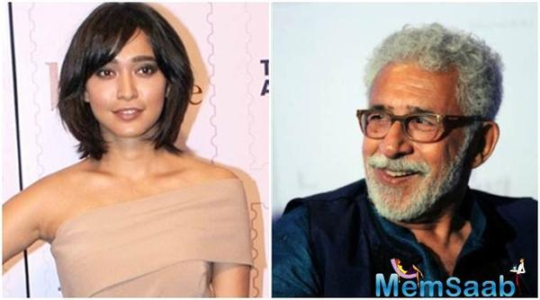 Sayani Gupta says she has realised her wish to work with Naseeruddin Shah