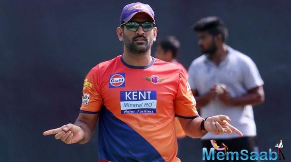 MS Dhoni replaced by Steve Smith as the captain of Rising Pune Supergiant