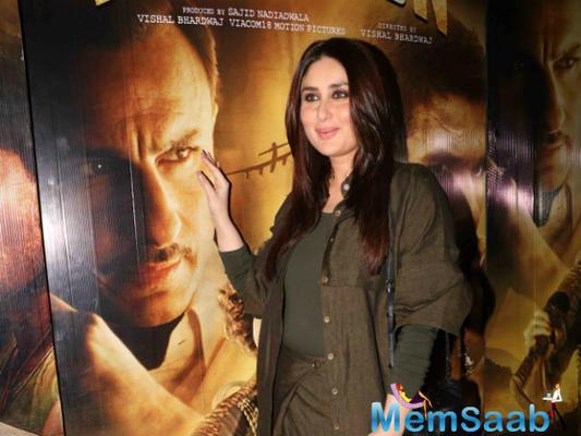 Kareena: Shahid, Saif and Kangana are three stellar actors in Rangoon