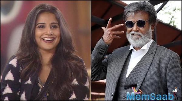 Vidya will star opposite Rajinikanth in Kabali director's next?