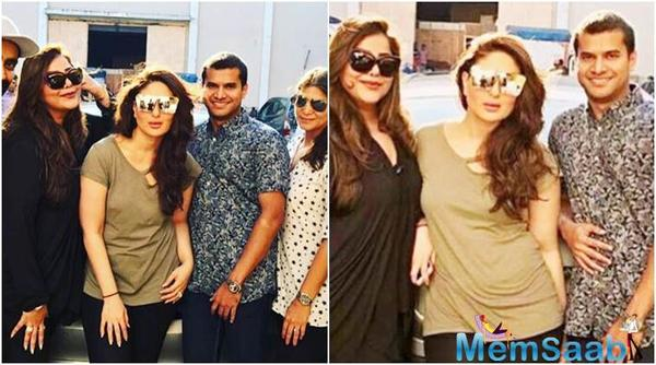 Kareena Kapoor is back to the sets after her pregnancy