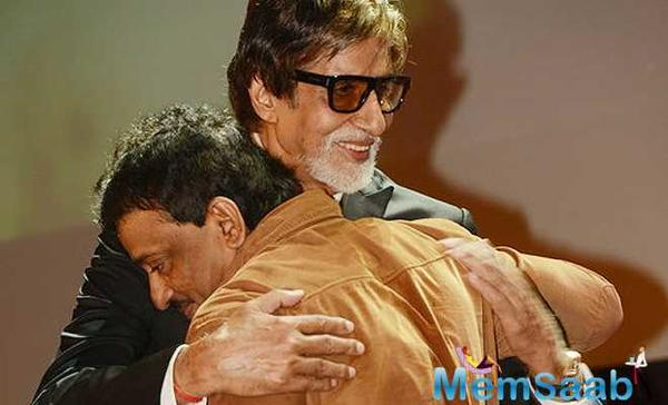 RGV says I regrets most of my cinematic outing with Big B, except for the Sarkar series