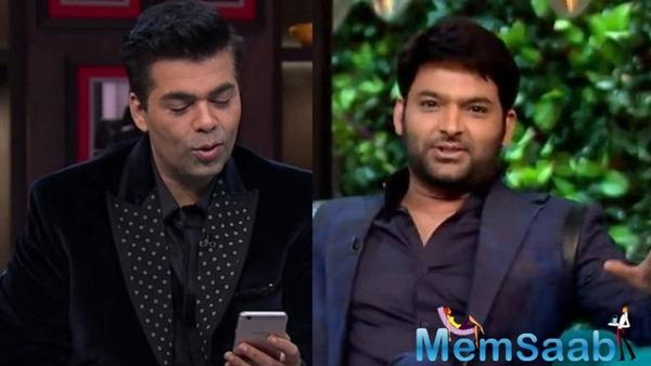 KWK: Kapil Sharma gave a most hilarious response when asked what he did for sex