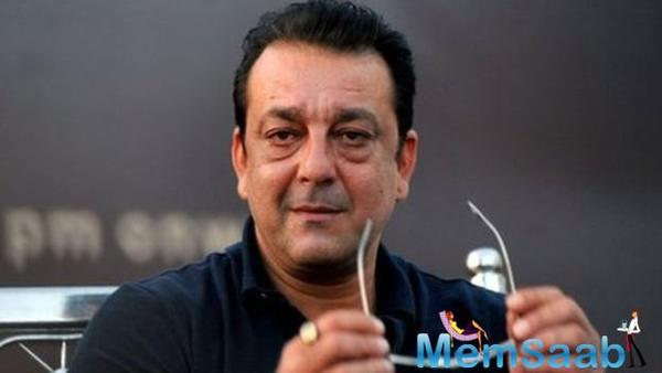 Sanjay Dutt takes a ride on a fan's customized Royal Enfield on 'Bhoomi' sets