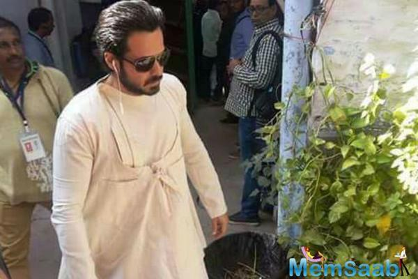 Revealed: Emraan Hashmi's new look in 'Baadshaho'