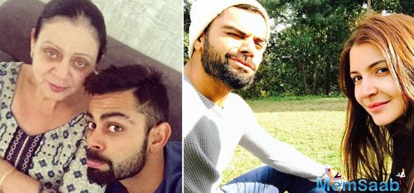 On Women's Day, Virat wishes  two 'most important women in his life'