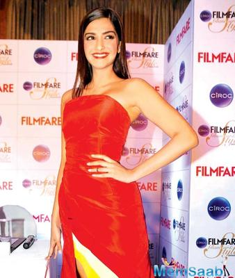 Sonam extended her support to Diva Fiesta 2017 on International Women's Day