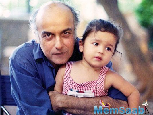 Mahesh Bhatt  heartwarming message for Alia Bhatt in her birthday