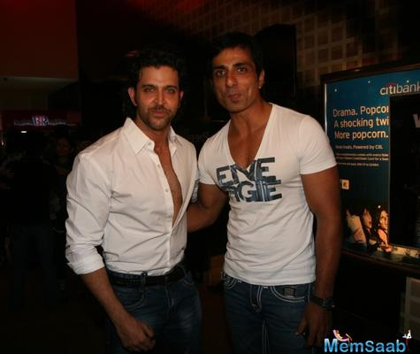 Sonu and Hrithik go back a long way. So, when the former broached the subject to Hrithik, he didn't think twice before giving his nod.